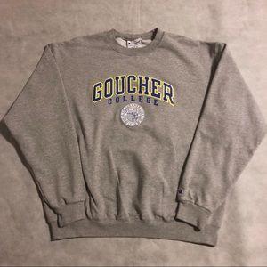 Champion Goucher College crewneck XL!